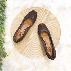 Seychelles Leather Wedge Heels